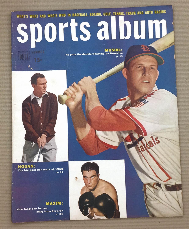 Sports Album Magazine June-Aug 1949