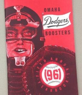 Omaha Dodgers 1961 Yearbook