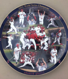 Angels 2002 Commemorative Plate