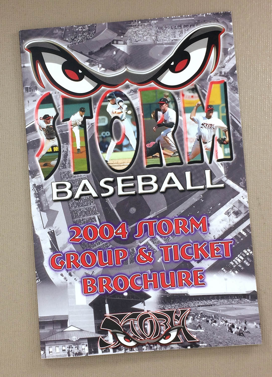 Lake Elsinore Storm 2004 Ticket Brochure