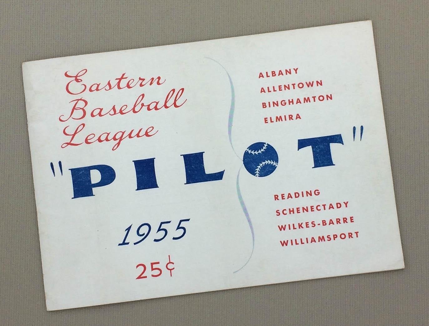 Eastern Baseball League 1955 Pilot