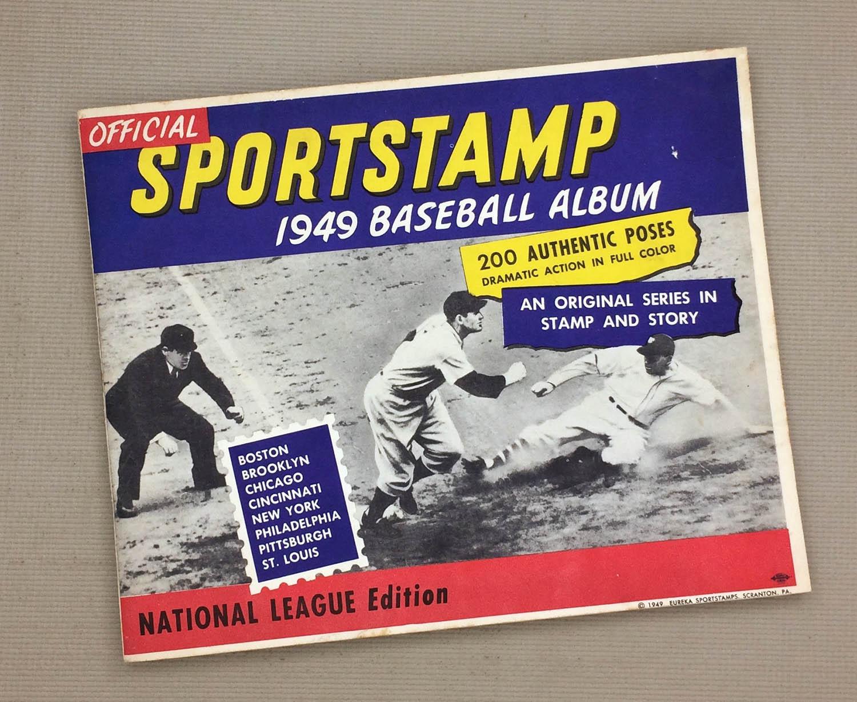 1949 National League Sports Stamp Album