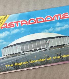 1960s Houston Astrodome Postcard Book
