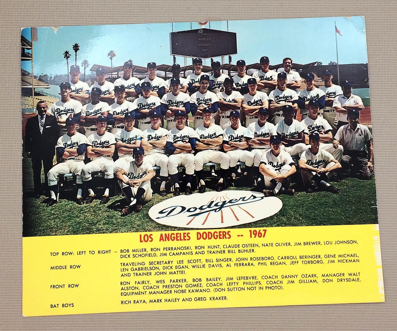 Los Angeles Dodgers 1967 Team Photo