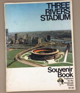 1970 Three Rivers Stadium Souvenir Book