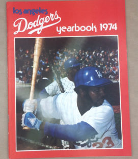 Los Angeles Dodgers 1974 Yearbook
