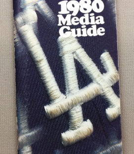 Los Angeles Dodgers 1980 Media Guide