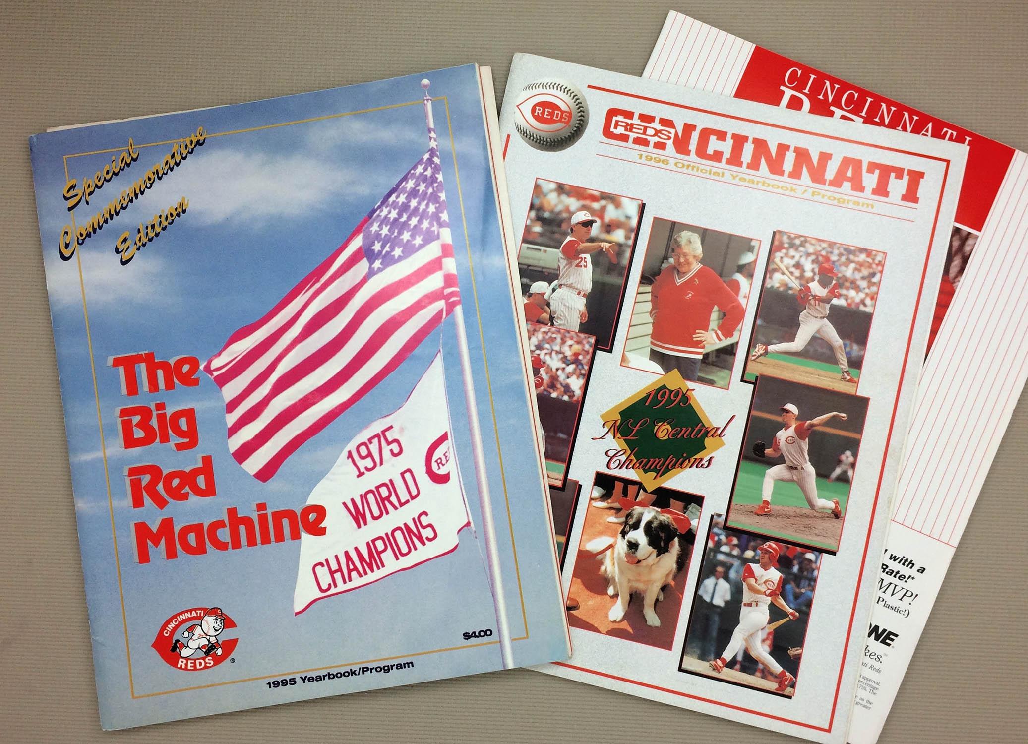 Cincinnati Reds 1995 Program