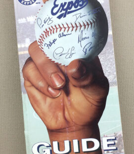 Montreal Expos 1996 Media Guide