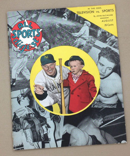 All Sports Digest August 1949 Issue