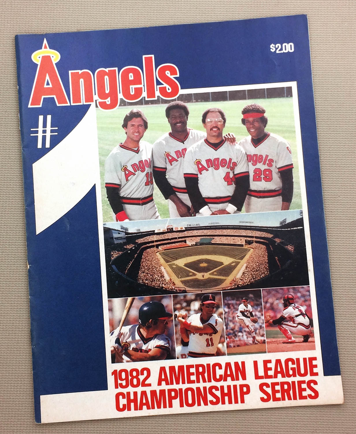 California Angels 1982 ALCS Program