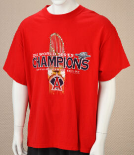 Los Angeles Angels 2002 Champs Tee
