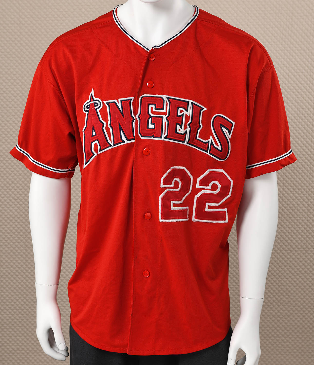 Los Angeles Angels Button-down Jersey