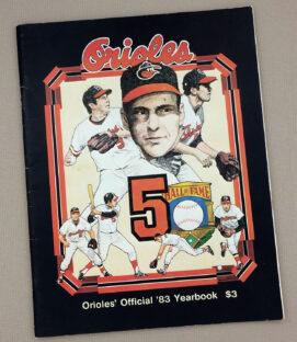Baltimore Orioles 1983 Baseball Yearbook