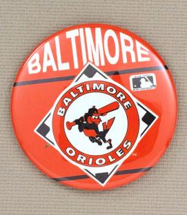 Baltimore Orioles Button