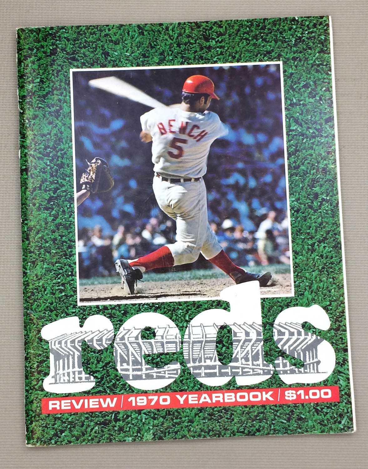 Cincinnati Reds 1970 Yearbook