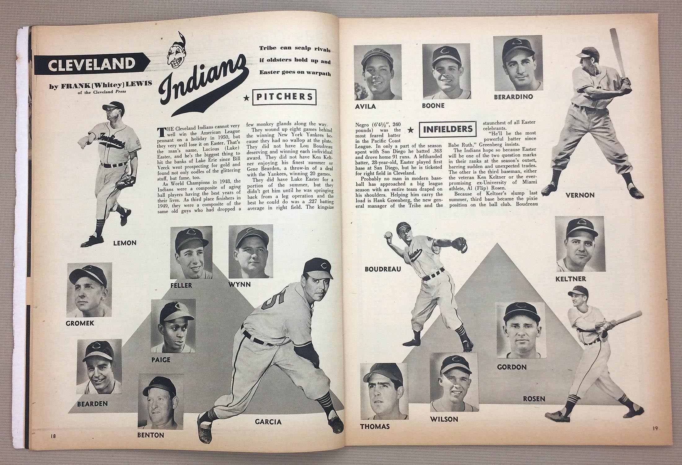 Cleveland Indians 1950