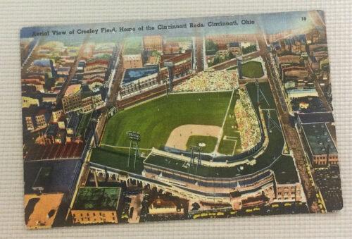 Vintage Crosley Field Postcard