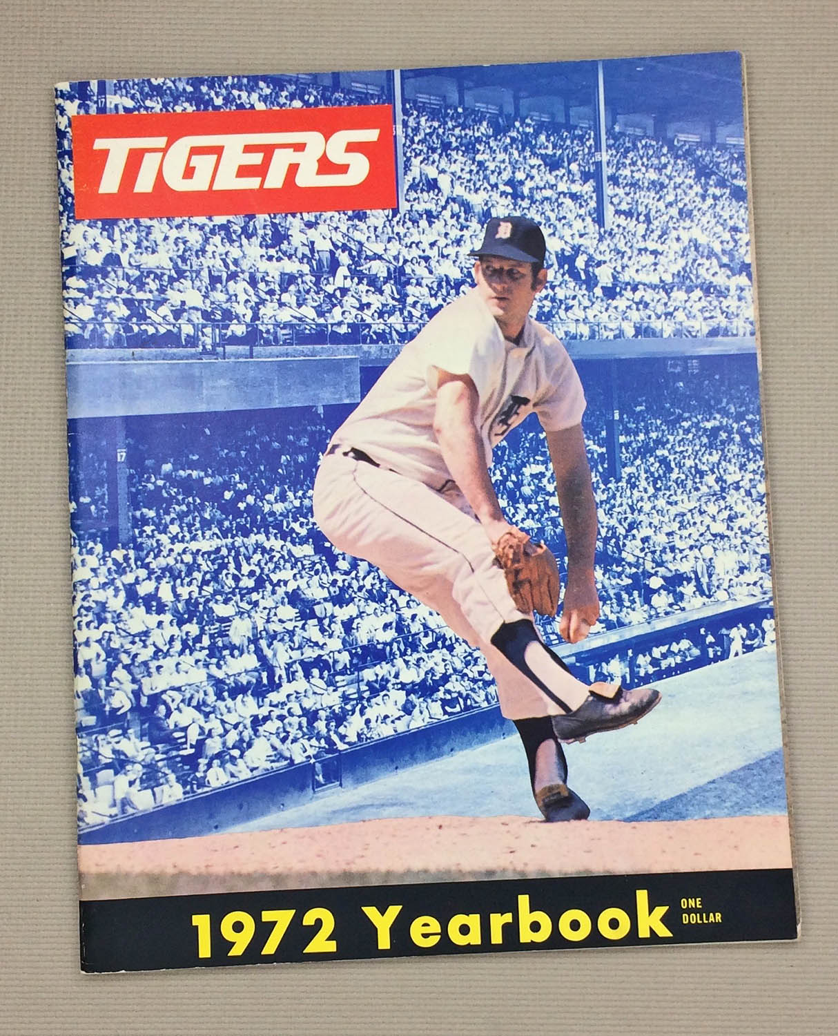 Detroit Tigers 1972 Official Yearbook