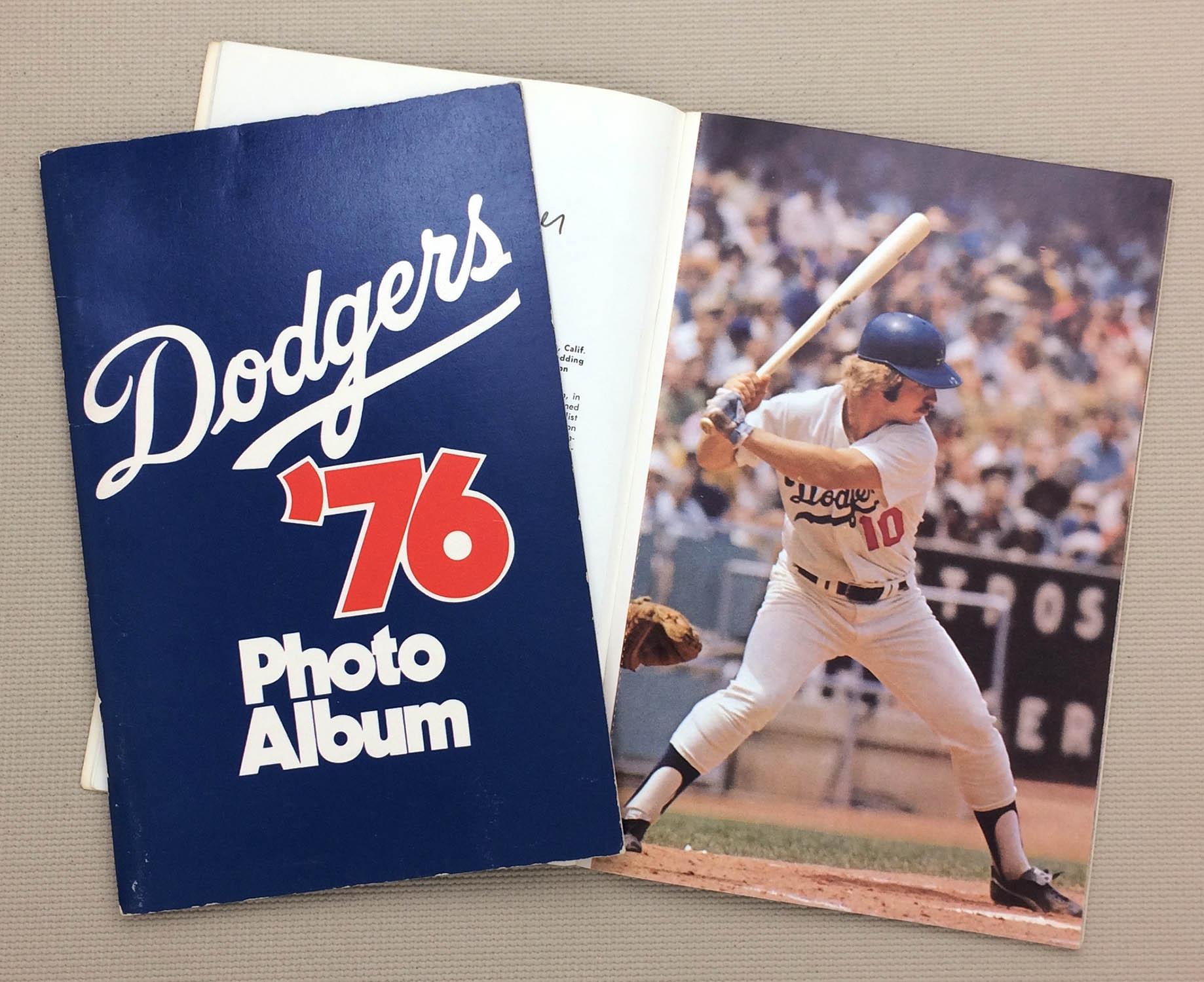 Los Angeles Dodgers 1976 Photo Album