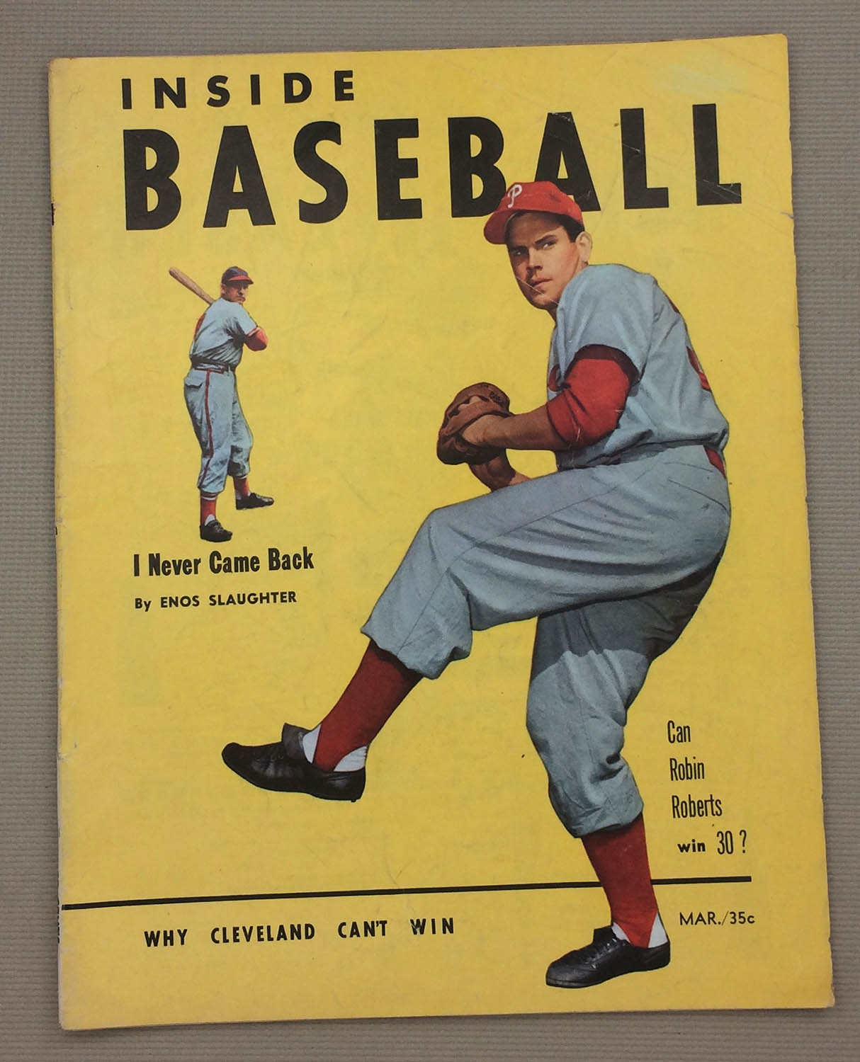Inside baseball March 1953 Issue