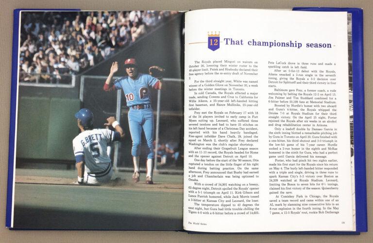 Kansas City Royals Championship Season