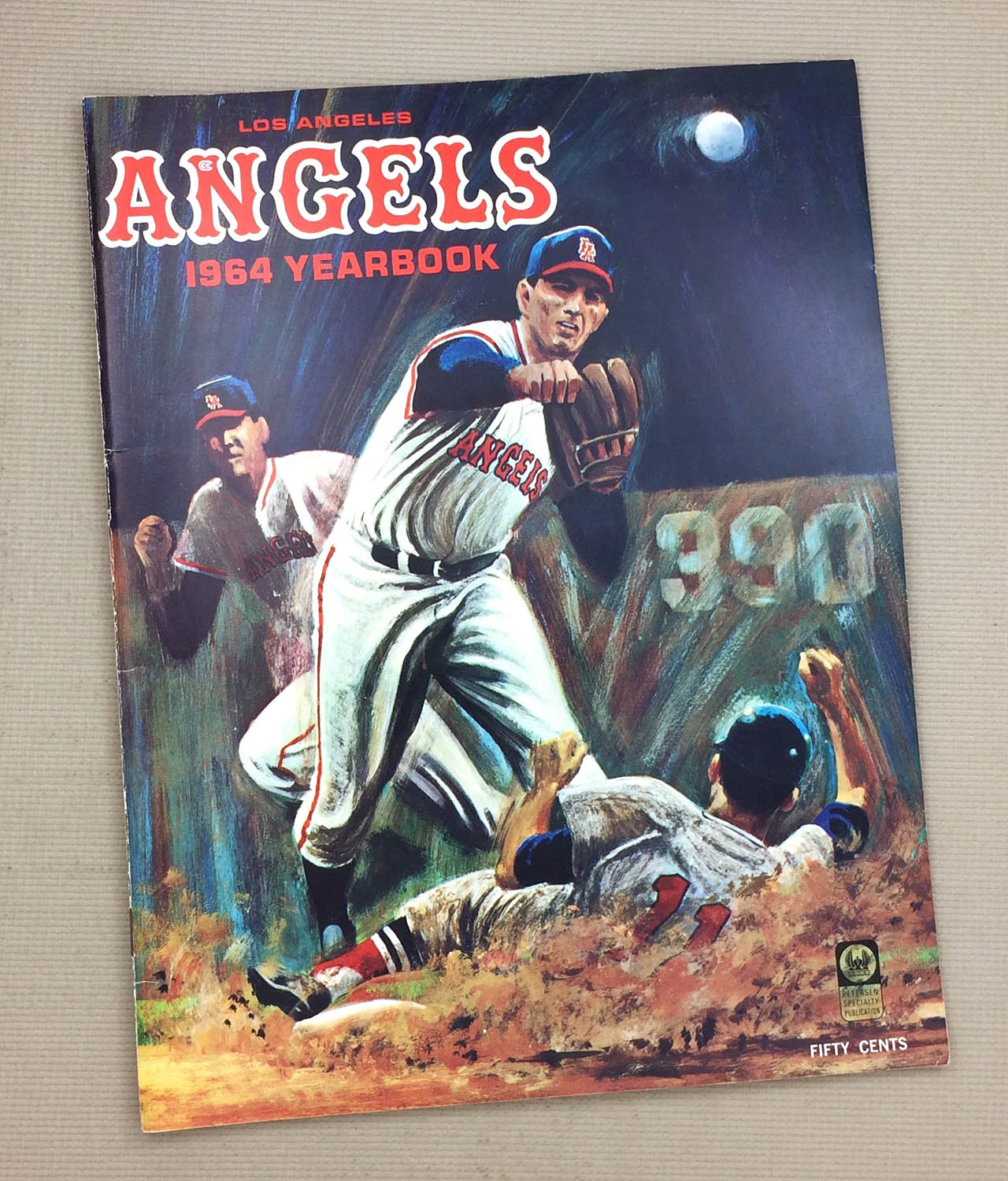 Los Angeles Angels 1964 Yearbook