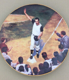 Bill Mazeroski Home Run Collectors Plate