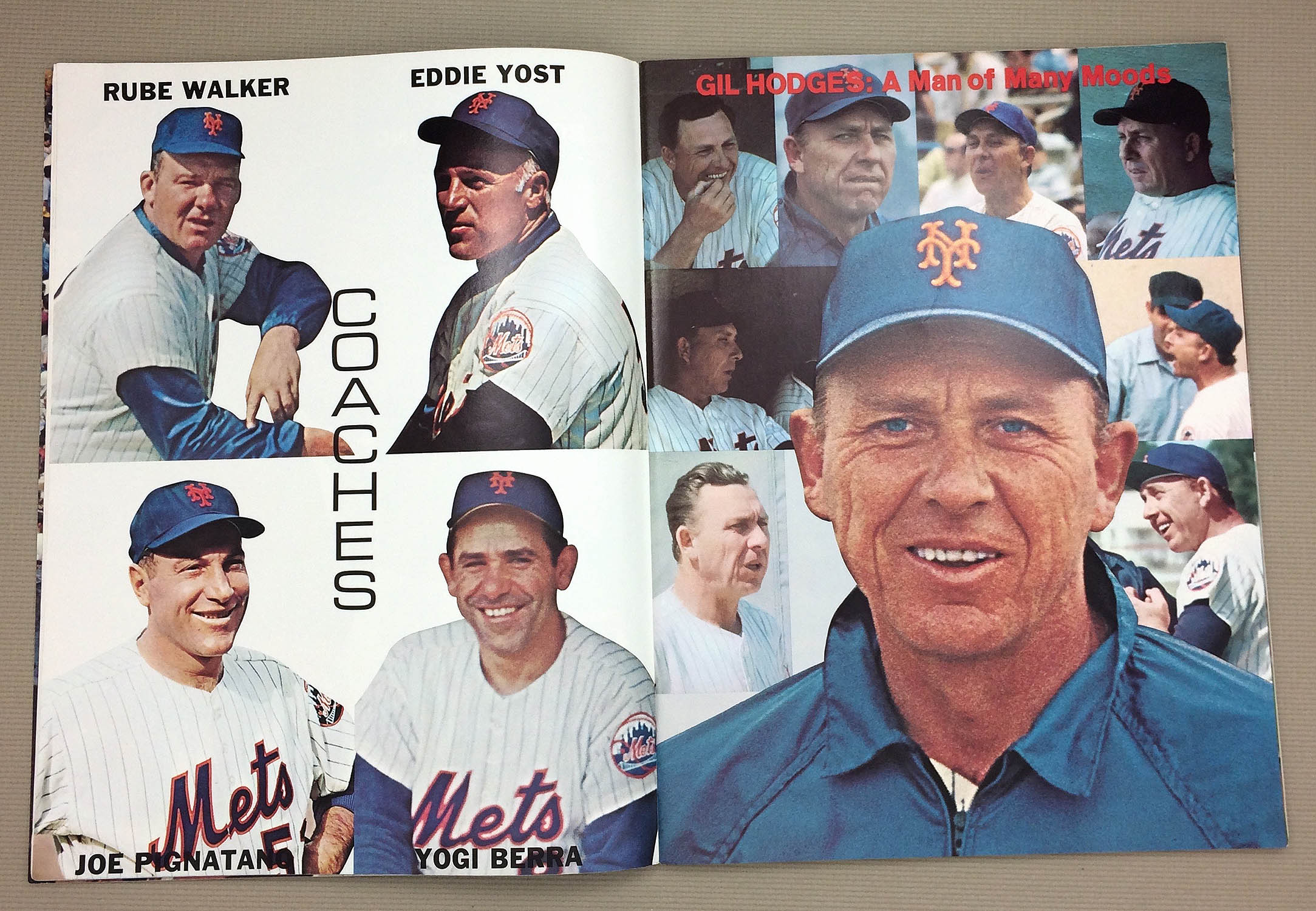 Gil Hodges A Man of Many Moods