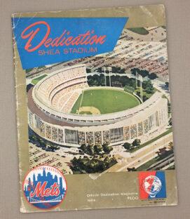 Shea Stadium Official Dedication Magazine