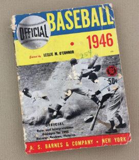 1946 Baseball Guide Leslie M. O'Conno