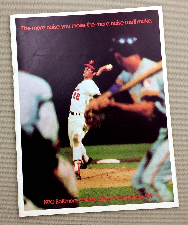 Baltimore Orioles 1970 Program