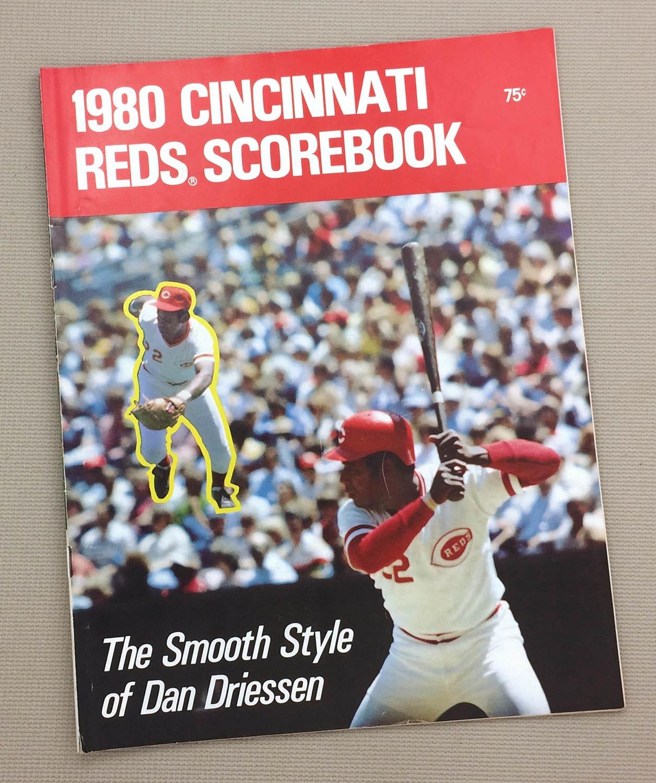 Cincinnati Reds 1980 Scorebook