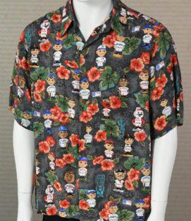 Reyn Spooner Bobblehead Hawaiian Shirt
