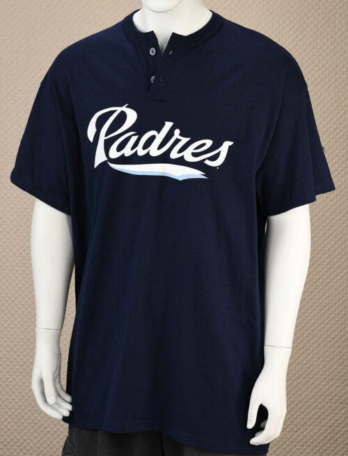 San Diego Padres Button Neck Tee