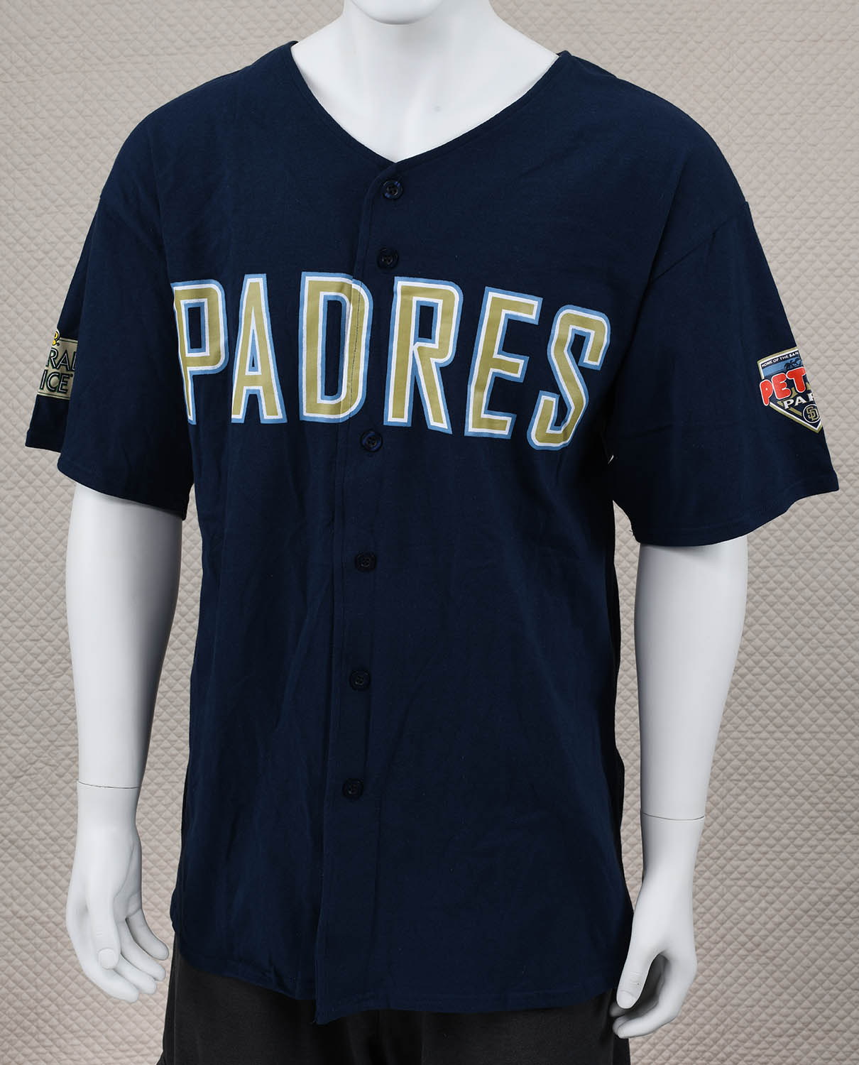 San Diego Padres Button-up T-Shirt
