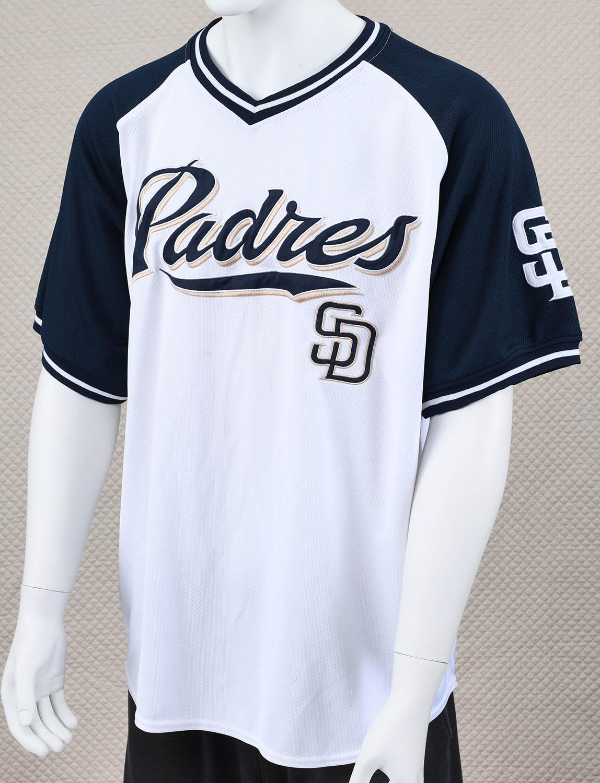buy popular 8eb20 81f77 San Diego Padres White Jersey