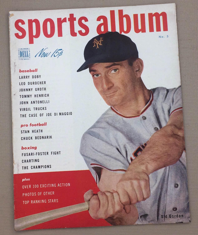 Dell Sports Album Magazine Summer 1949