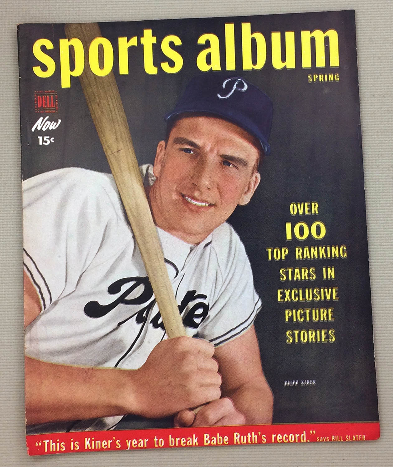Dell Sports Album Magazine Spring 1950