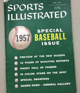 Sports Illustrated 1957 Baseball Issue