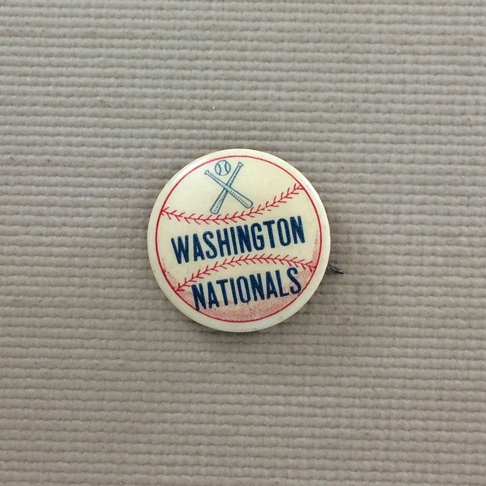 1950's Washington Nationals Button