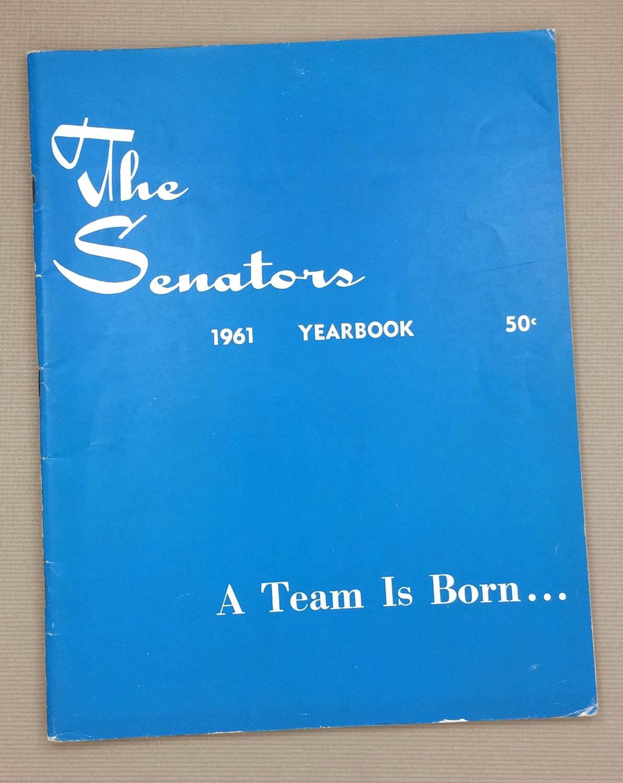 Washington Senators 1961 Yearbook