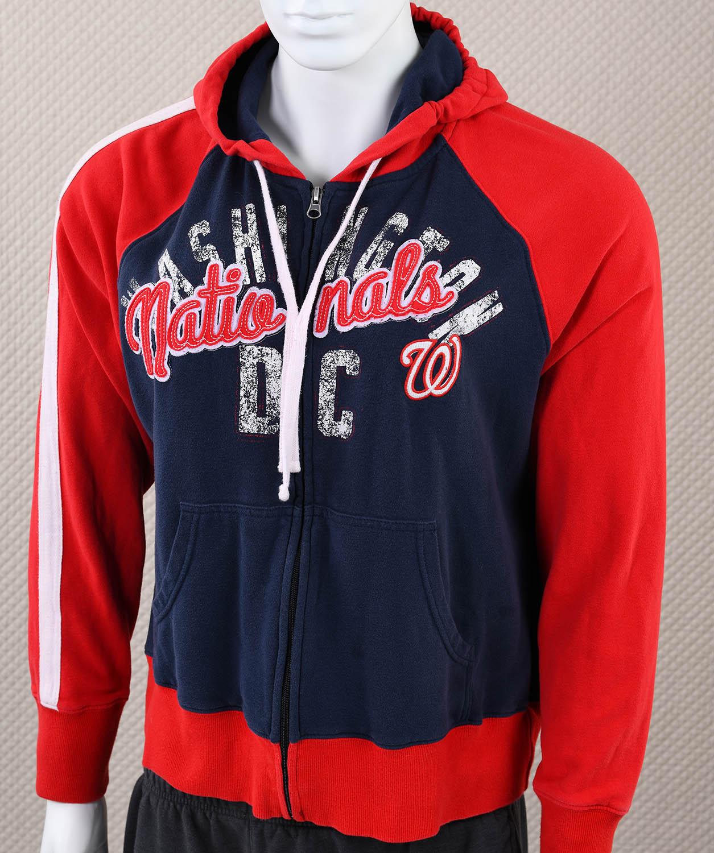 competitive price 71903 cc5c4 Washington Nationals Womens Sweatshirt