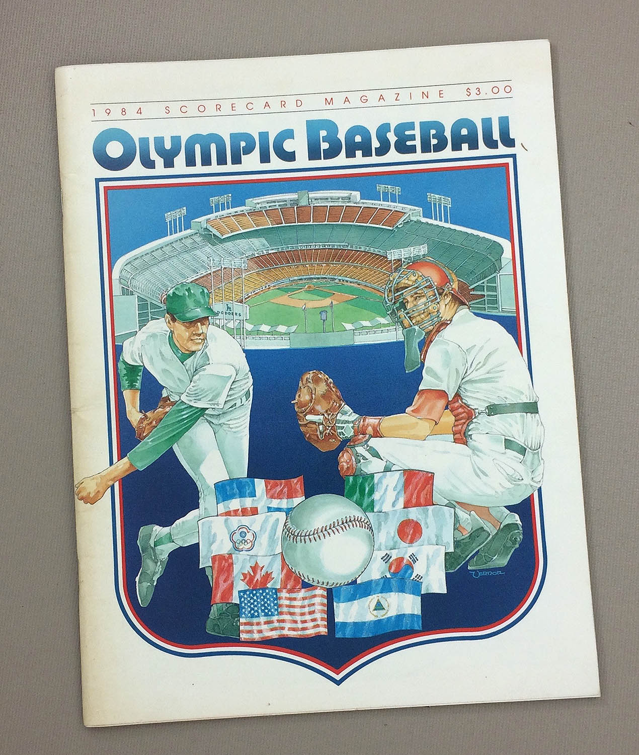 1984 Olympic Baseball Program