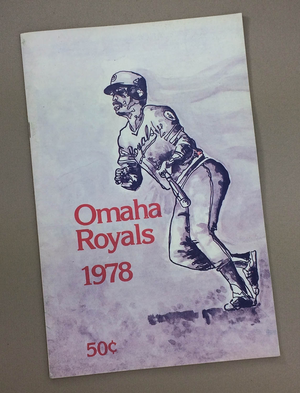 Omaha Royals 1978 Program