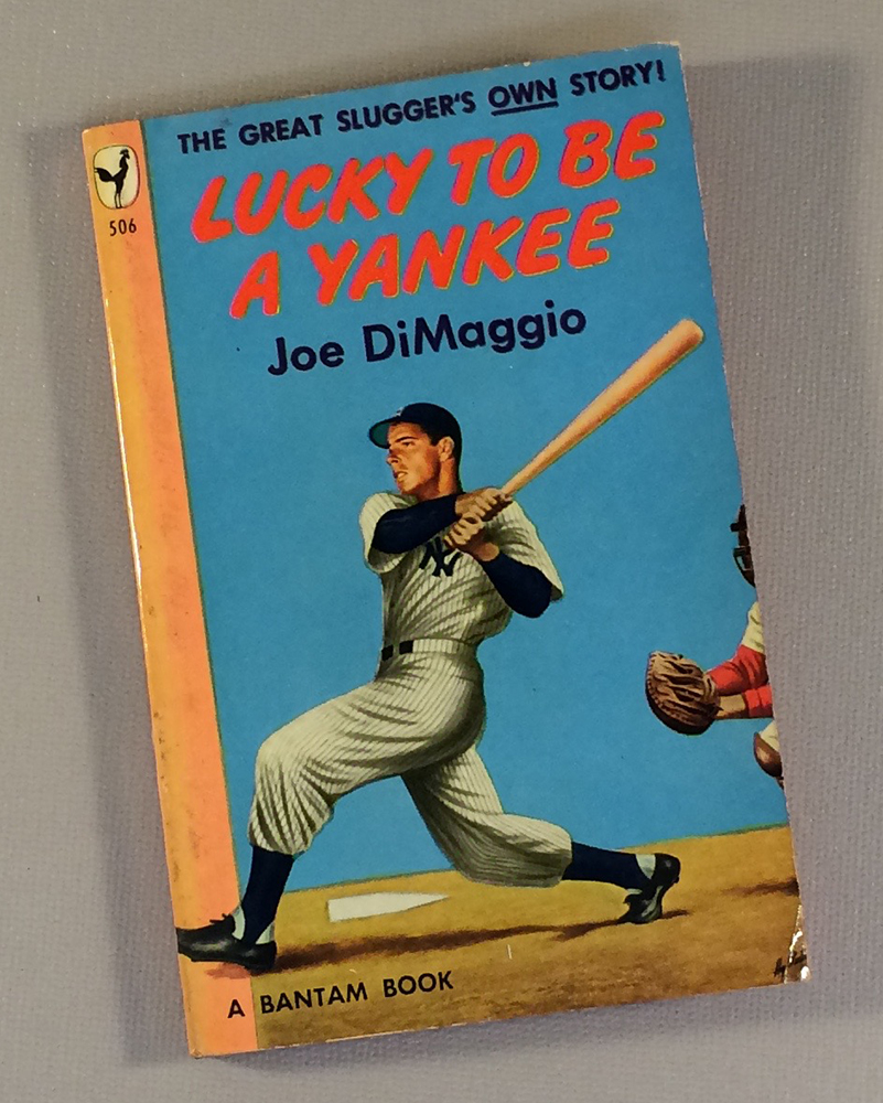 Joe DiMaggio Lucky to be a Yankee