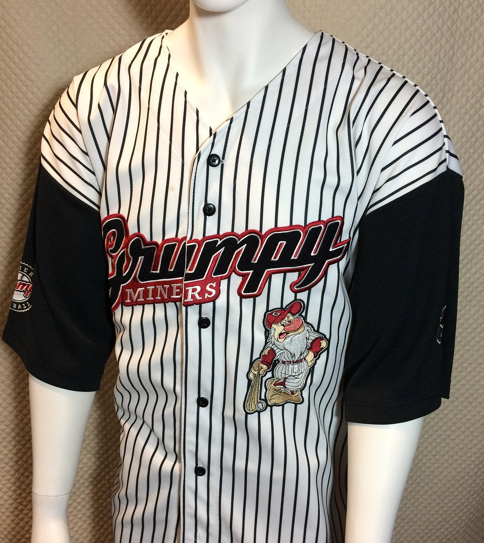 Grumpy Miners Disney Baseball Jersey