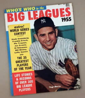 1955 Dell WHO'S WHO IN THE BIG LEAGUES Magazine