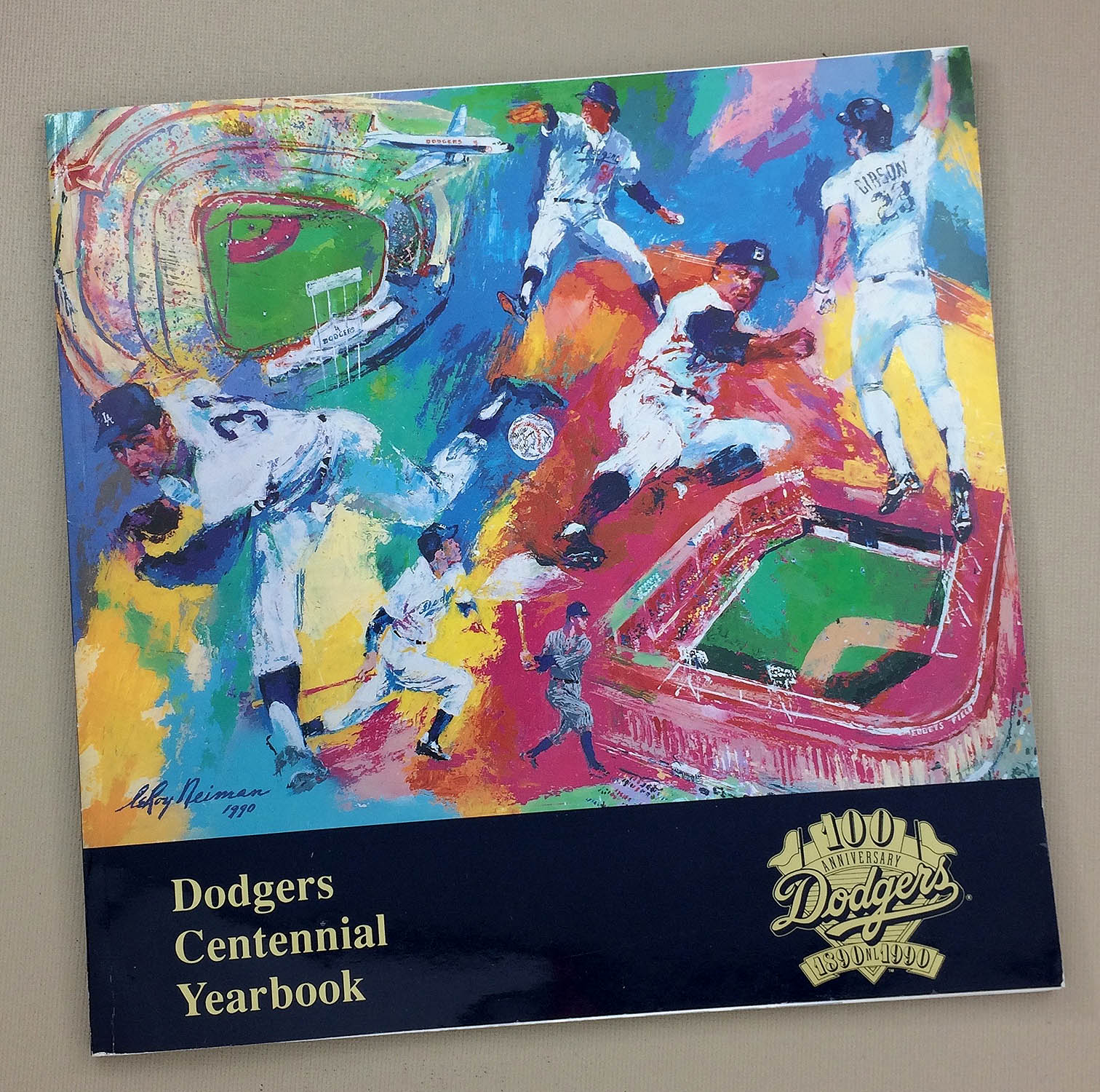 Dodgers Centennial Yearbook