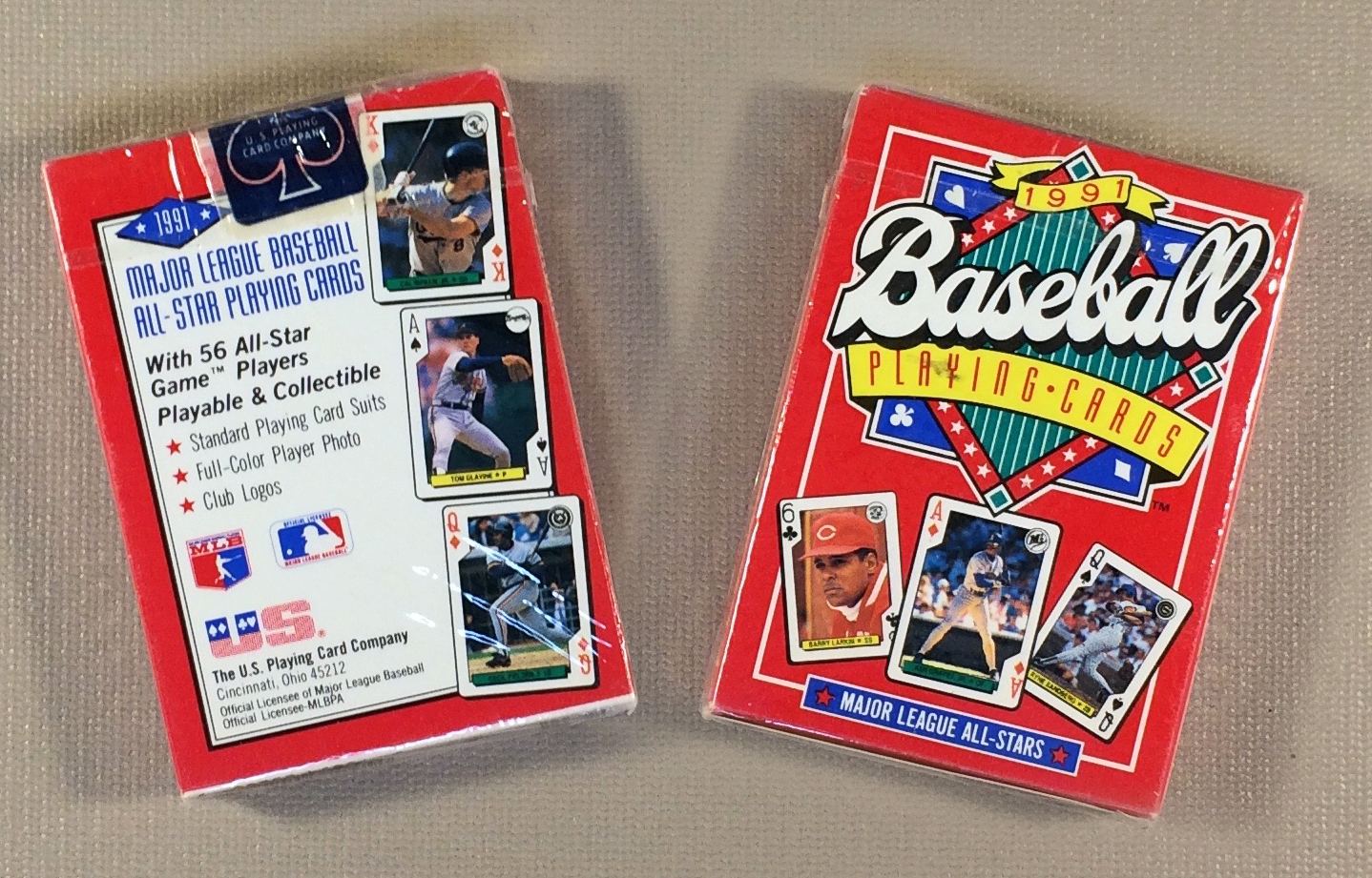 1991 All Star Playing Cards